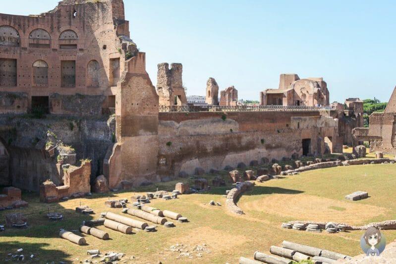 Forum Romanum als Rom Sehenswürdigkeit