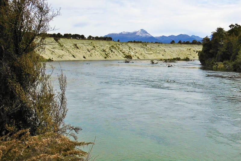 Der Waiau River als Herr der Ringe Drehort für Anduin