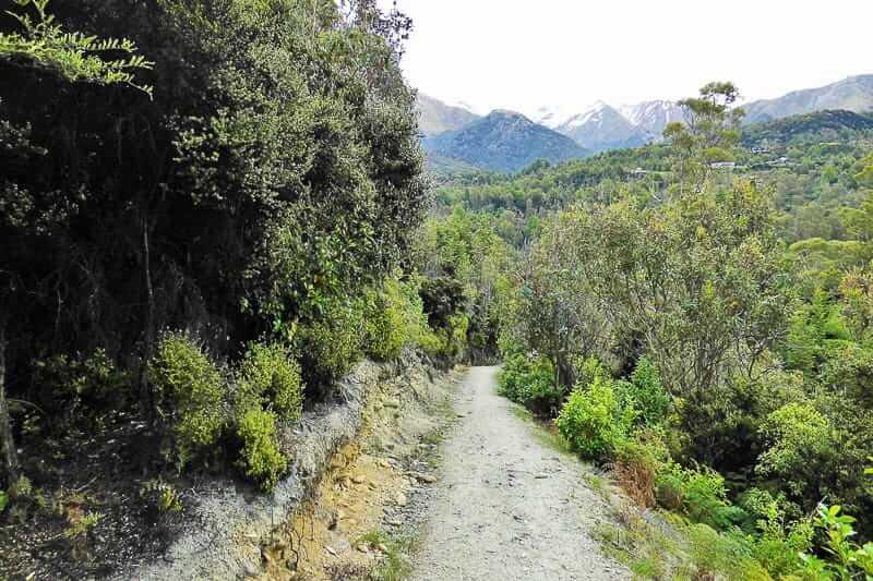Herr der Ringe Drehorte am Twelf Mile Delta in Neuseeland