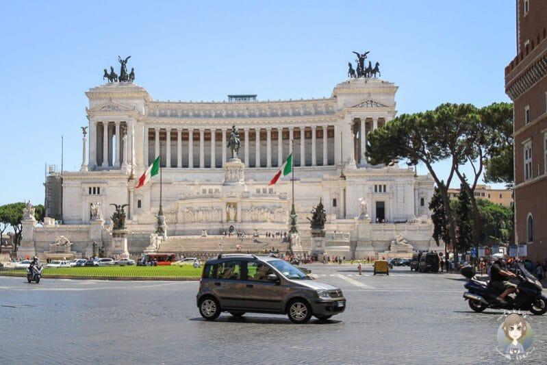 Nationaldenkmal Viktor Emanuel eine der Rom Sehenswürdigkeiten