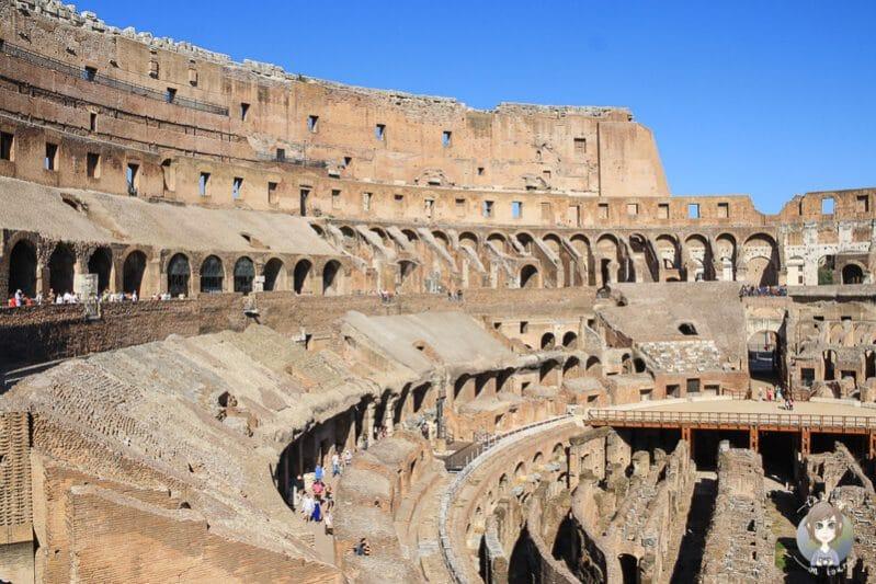 Das Kolosseum eine Rom Sehenswürdigkeit