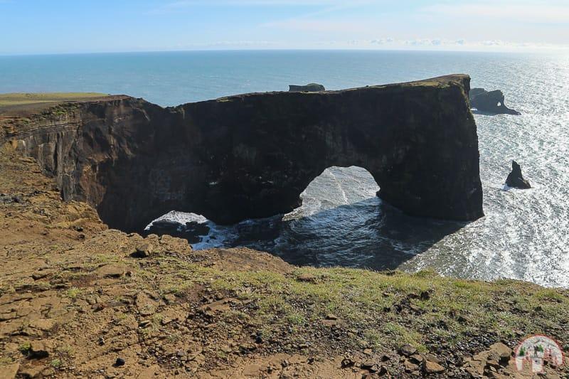 Island Rundreise mit dem Auto am Dyrholaey Arch
