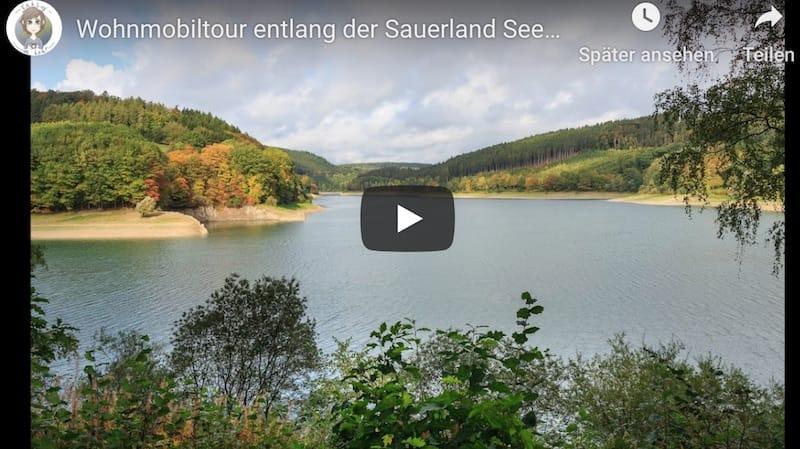 Youtube Video Sauerland Seen