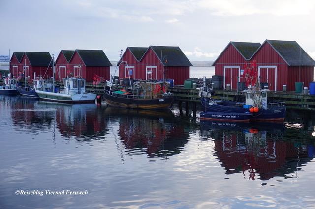 Fischerhafen in Boltenhagen als eines der Reiseziele in Deutschland