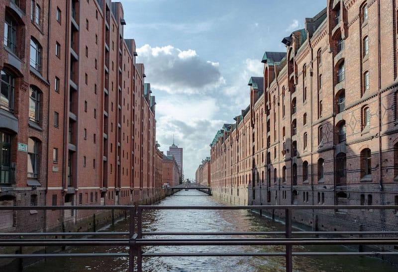 Speicherstadt in Hamburg eines der Reiseziele Deutschland