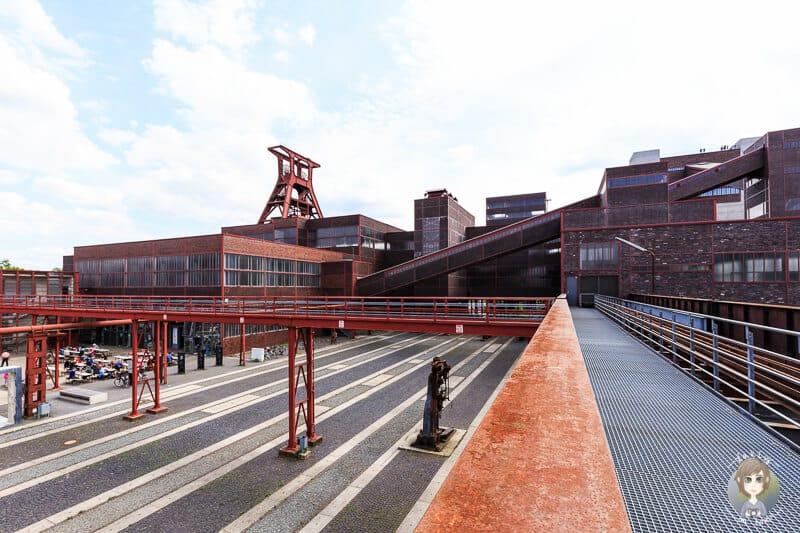 Zeche Zollverein in Essen als Reiseziel in Deutschland