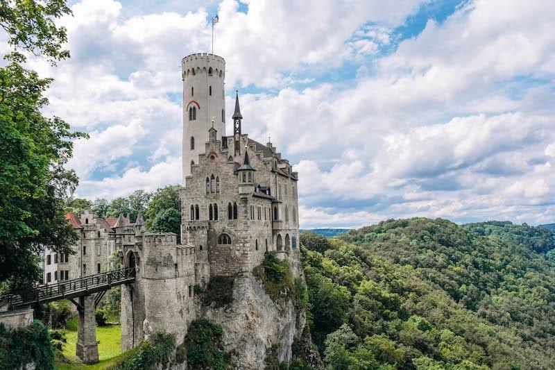 Schloss Lichtenstein als eines der Reiseziele in Deutschland