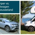 Camper oder Mietwagen in Neuseeland: Was ist die bessere Wahl?