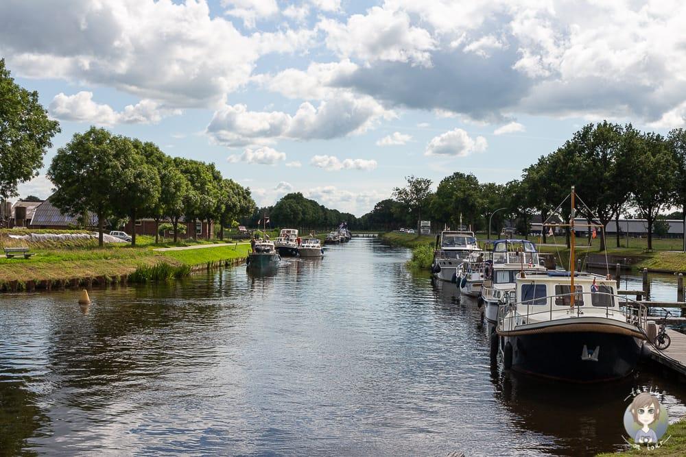 Urlaub in Holland am Am Kanal Drentsche Hoofdvaart in Drenthe