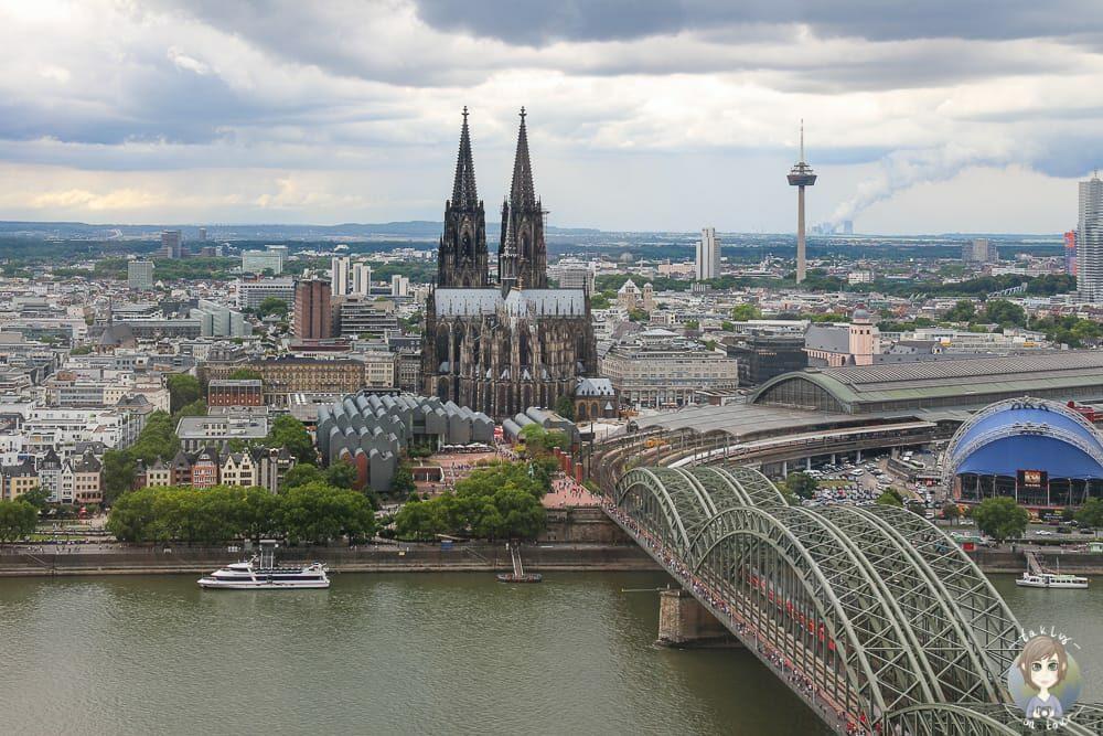 Aussichtsplattform Köln auf dem Triangle Köln