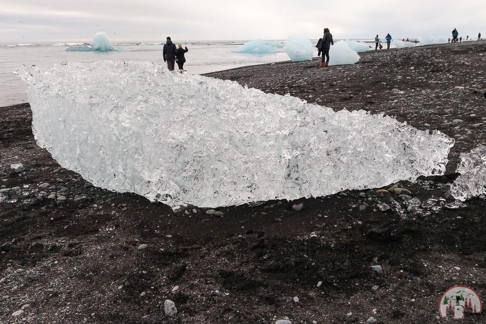 Gletscher Island am Diamond Beach