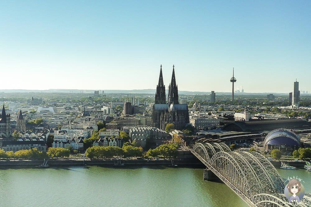 Triangle Turm Köln Aussichtsplattform