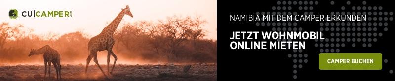 Camper mieten in Namibia