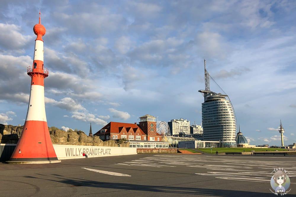 Willy Brandt Platz eine der Bremerhaven Sehenswürdigkeiten