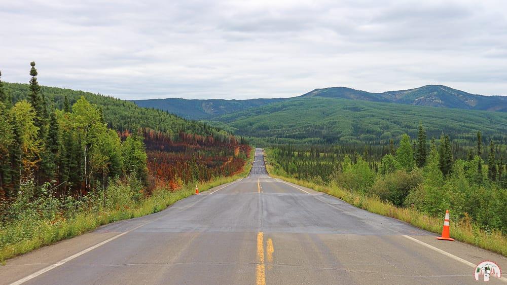 Die Landschaft am Dalton Highway Alaska