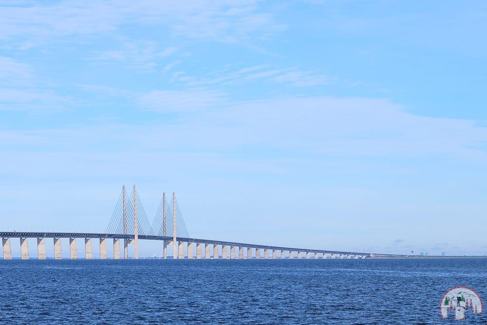Rückfahrt über Oeresundbrücke auf einem Schweden Roadtrip