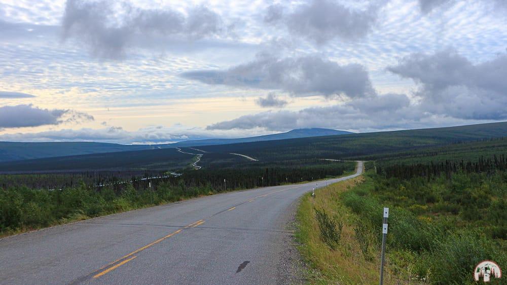 Morgens auf dem Dalton Highway
