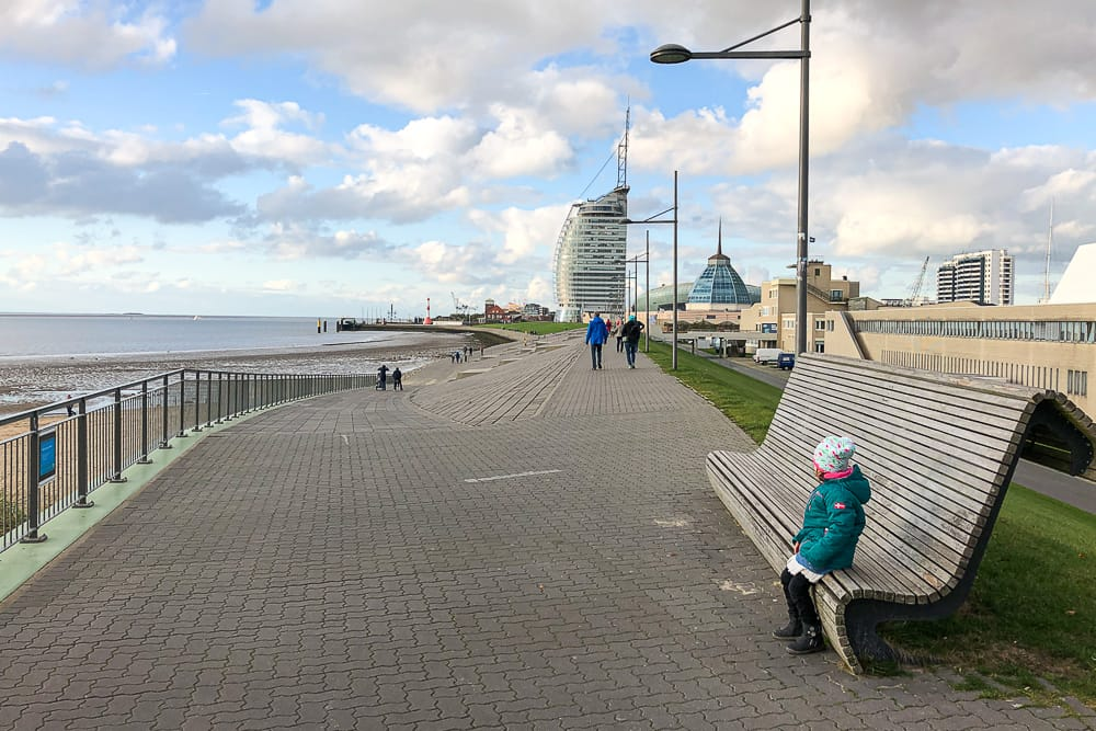 Spaziergänge in Bremerhaven