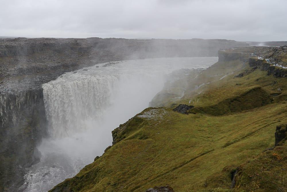 Dettifoss Wasserfall in Islands Norden