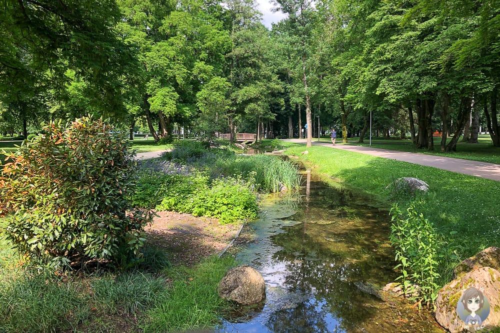 Der Kurpark in Bad Abbach