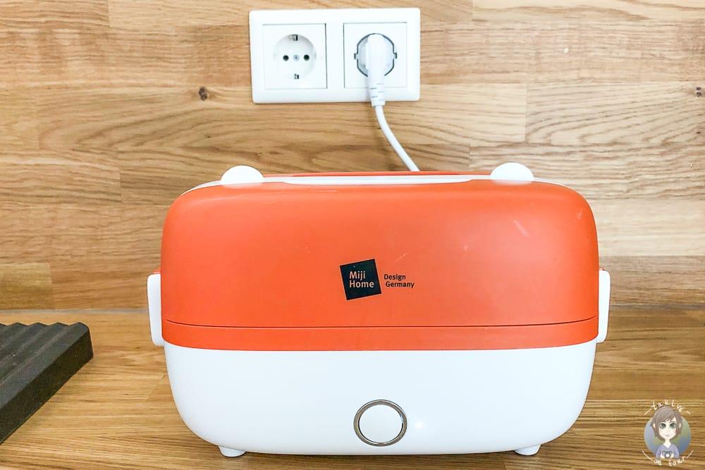 Kochen im Wohnmobil mit dem elektrischen Dampfgarer Cookingbox One