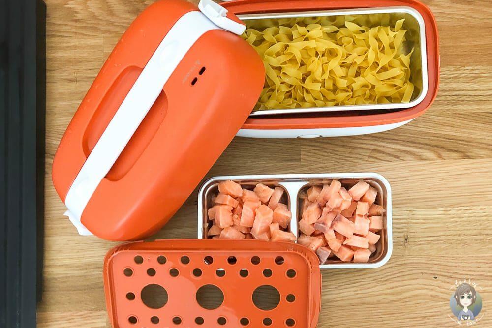 Kochen im Wohnmobil mit Dampfgarer Miji