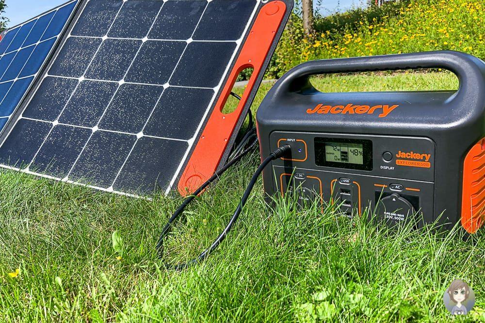 Mobile Solaranlage fürs Wohnmobil