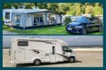 Wohnwagen oder Wohnmobil