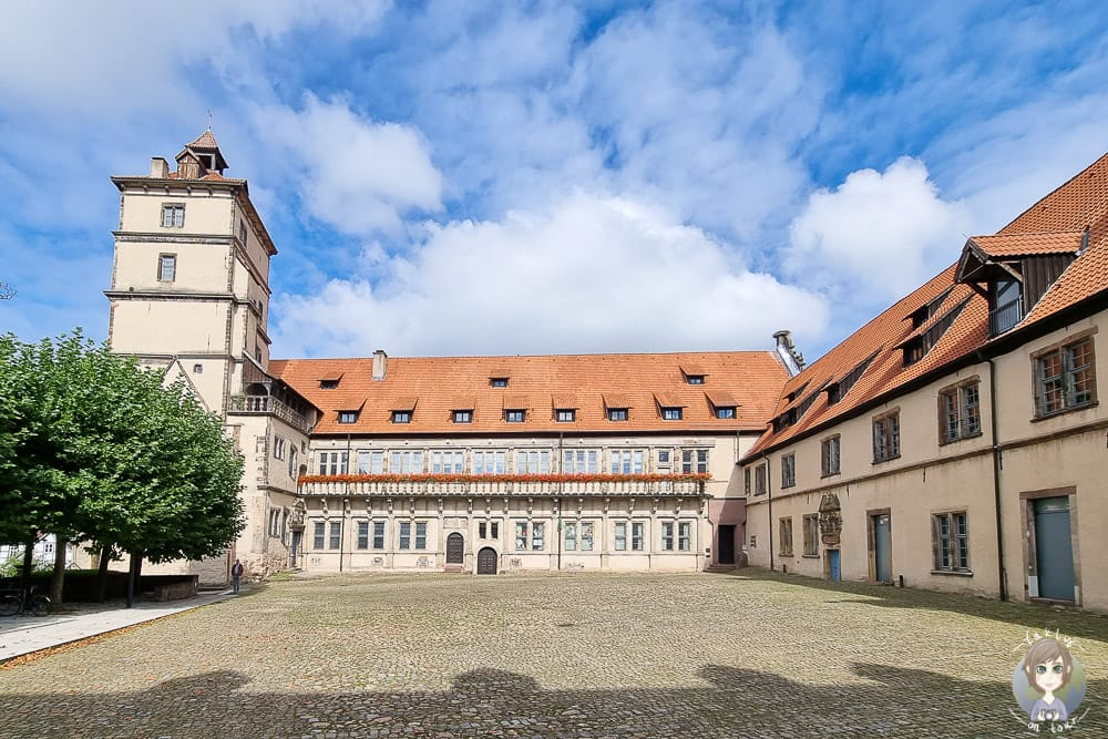 Innenhof vom Schloss Brake in Lemgo