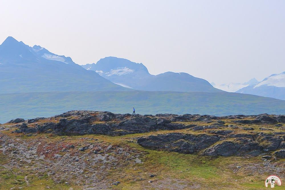Bei Valdez in Alaska