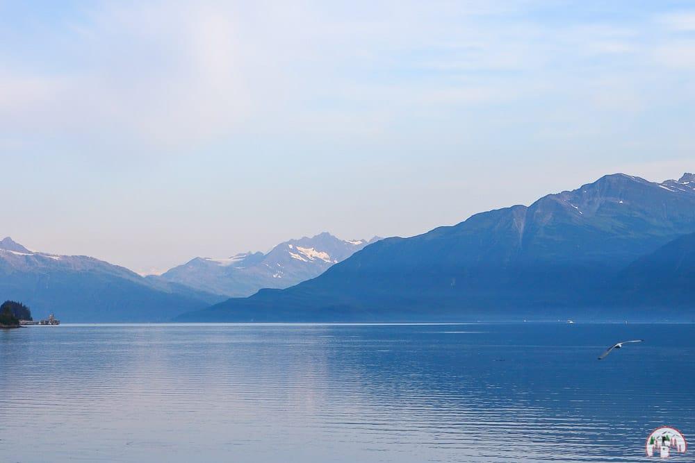 Traumhafter Ausblick in Valdez Alaska