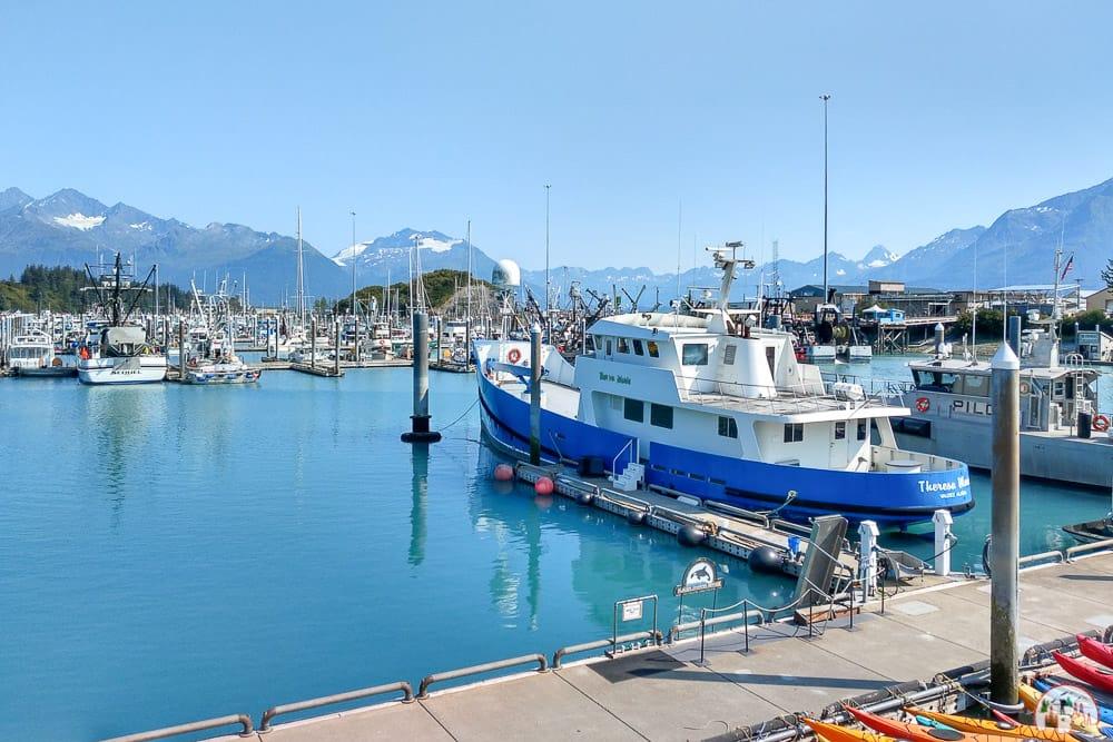 Der Hafen in Valdez